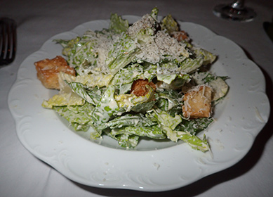 Caesar Salad - The Chandler Steakhouse - MGM Springfield - photo by Luxury Experience