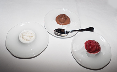 Gelato - The Chandler Steakhouse - MGM Springfield - photo by Luxury Experience