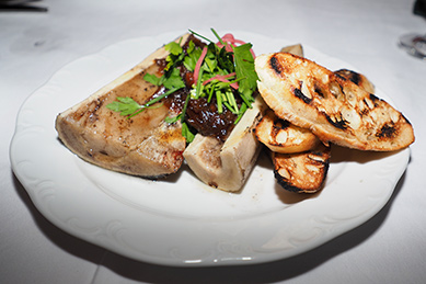 Roasted Bone Marrow - The Chandler Steakhouse - MGM Springfield - photo by Luxury Experience