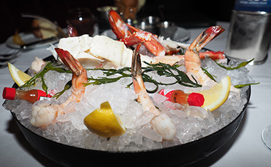 Chilled Shellfish Sampler - The Chandler Steakhouse - MGM Springfield - photo by Luxury Experience