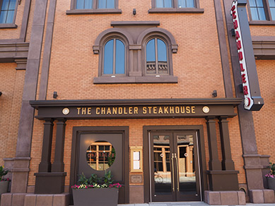 The Chandler Steakhouse at MGM Springfield, MA - photo by Luxury Experience
