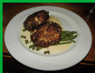 New England Crab Cake - Photo By Luxury Experience
