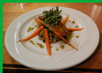 Vermont Honey Basil Seared Salmon - Photo By Luxury Experience