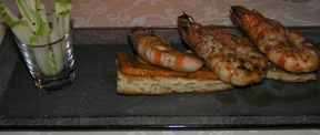 Cintemani Restaurant Grilled Shrimp