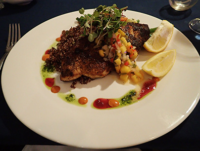 Swordfish - Claude's Restaurant - Southampton Inn, Southampton, NY, USA - photo by Luxury Experience