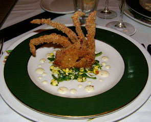 Soft Shell Crab - Commander's Palace, New Orleans, Louisiana -photo by Luxury Experience
