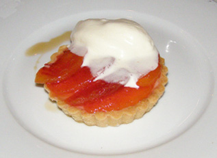 Peach Tart - Coquette Bistro Wine Bar, New Orleans, Louisina, USA - Photo by Luxury Experience