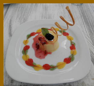 Passion Fruit Mousse - Costa Sur Resort - photo by Luxury Experience
