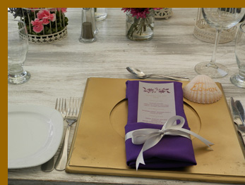 Table Setting at Costa Sur Resort - photo by Luxury Experience