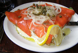 Smoked Salmon Crepe - Creperie Catherine, Mont-Tremblant, Canada - Photo by Luxury Experience