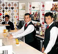 davidburke & donatella Bartenders Thomas Barone and Raafet Olian