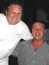 David Burke and friend Tony Sichenzio
