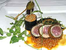 davidburke & donatella mustard crusted tuna teriyaki