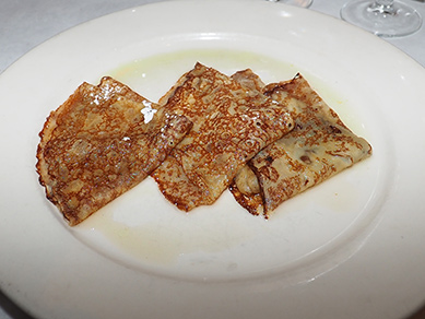 Crepes Suzette with Grand mariner - Photo by Luxury Experience