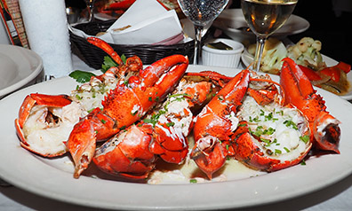 Lobsters in a Beurre Bblanc Ssauce - Photo By Luxury Experience