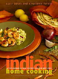 devi Iindian Home Cooking book cover