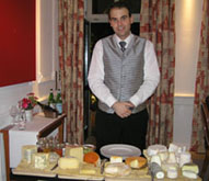 Cheese Cart at Die Quadriga in Berlin, Germany
