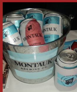 Mantauk Brewing at Docsk Oyster Festival - Photo by Luxury Experience