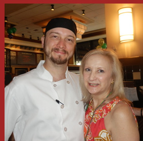 Docks Oyster Bar and Seafood Bar - Sous Chef Andrew Sikorski and Debra C. Argen - Photo by Luxury Experience