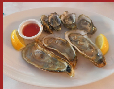Docks Oyster Bar and Seafood Bar - Variety of Oysterser - Photo by Luxury Experience