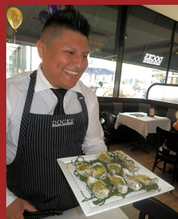 Docks Oyster Bar and Seafood Bar - Oysters Rockerfeller - Photo by Luxury Experience