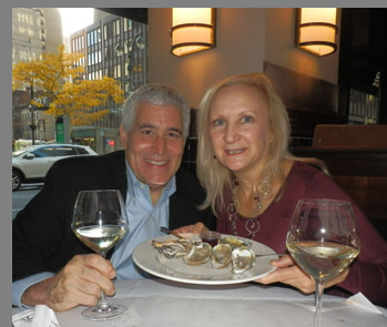 Edward Nesta, Debra Argen - Docks Oyster Bar and Seafood Grill - NY, NY, USA  - Photo By Luxury Experience