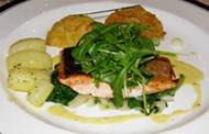 The Earl of Thomond Restaurant, Dromoland Castle Hotel & Country Estate, County Clare, Ireland - Salmon