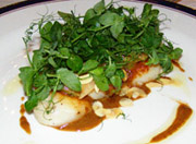 The Earl of Thomond Restaurant, Dromoland Castle Hotel & Country Estate, County Clare, Ireland - Scallops
