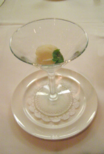 Escoffier Restaurant - The Culinary Institute of America - Key Lime Sorbet