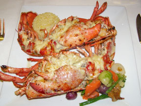 Escoffier Restaurant - The Culinary Institute of America - Lobster Thermidor
