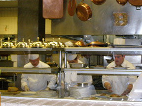 Escoffier Restaurant - The Culinary Institute of America - Action in the Kitchen