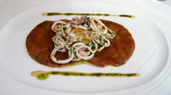 Facil, Berlin, Germany - veal with calamari