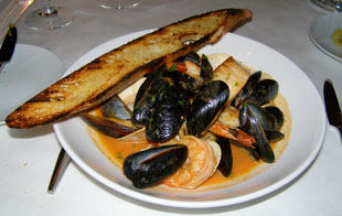 Shellfish Pan Roast - Fluke Wine, Bar and Kitchen, Newport, Rhode Island, USA - Photo by Luxury Experience