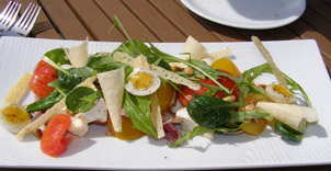 Seaside Restaurant, Grand Hotel Molle, Molle, Sweden - Tomato Salad