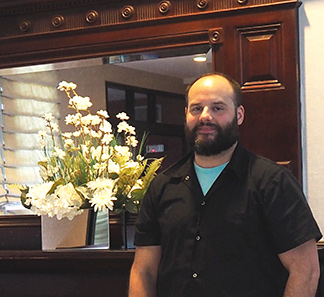 Chef Daniel Dionne - Granite Restaurant at The Contenntial Hotel - Concord, NH - photo by Luxury Experience