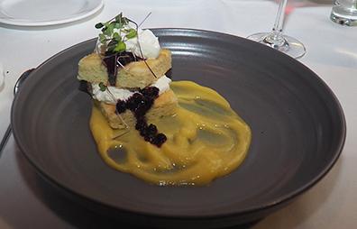 Lemon Chiffon Cake - Granite Restaurant - photo by Luxury Experience