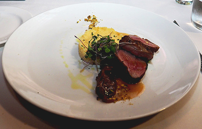 Seared Duck Breast - Granite Restaurant - photo by Luxury Experience