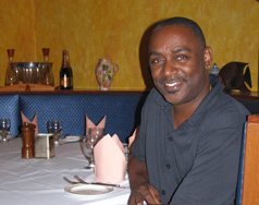 Owner/CEO Greg L. Wilson of Greg's Steakhouse, Hamilton, Bermuda