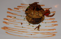 Greg's Steakhouse, Hamilton, Bermuda - Lobster Cakes