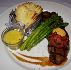 Greg's Steakhouse, Hamilton, Bermuda - NY Strip Steak