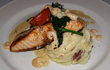 Greg's Steakhouse, Hamilton, Bermuda - Salmon