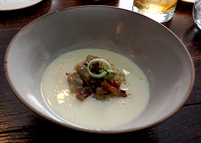 Clam Chowder - Hamilton Park Restaurant - New Haven, CT - photo by Luxury Experience