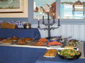 Handelsman Flink lunch buffet