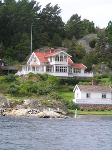 West Sweden from the Water outside of Handelsman Flink