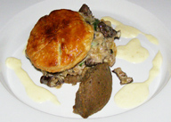 The Harvest Room, Dunbrody Country House Hotel & Restaurant, Co. Wexford, Ireland - Pithivier of Forest Mushrooms