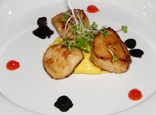 The Harvest Room, Dunbrody Country House Hotel & Restaurant, Co. Wexford, Ireland - Scallops