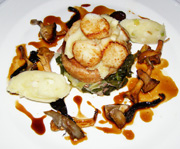 The Harvest Room, Dunbrody Country House Hotel & Restaurant, Co. Wexford, Ireland - soya and honey glazed belly of pork