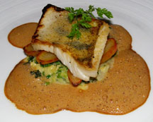 Vicoria Jungfrau Collection - Jasper at Palace Luzern - fried pike perch