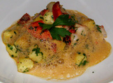 Vicoria Jungfrau Collection - Jasper at Palace Luzern - roast potato gnocchi with tarragon and lobster