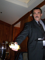 Sommelier Pierre-Yves Robin of The Jockey Club at The Fairfax at Embassy Row, Washington, DC